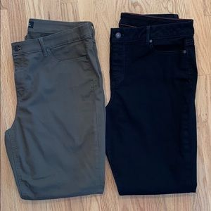 Talbots Lot of 2 Pairs Straight Bootcut Jeans 16